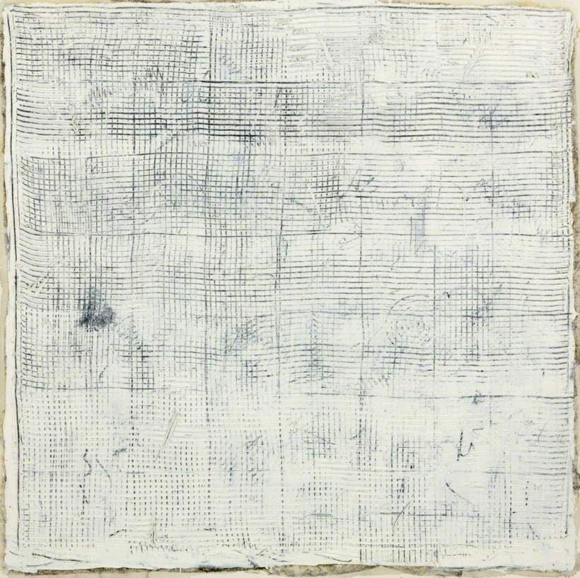 Cramb, James, b.1953; White Grid